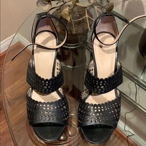 Tory Burch perforated wedges.